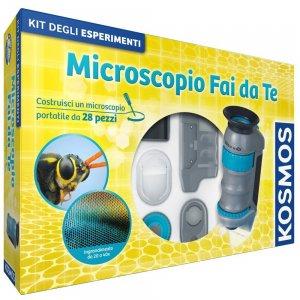 microscopio fai da te per bambini