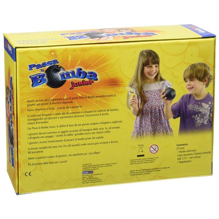 Passa la bomba junior giochi uniti for kids - Gioco da tavolo passa la bomba ...