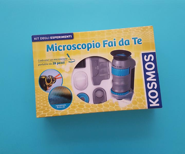 Giochi Scientifici: Microscopio fai da te