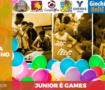 Giochi uniti for kids ospite all'area junior dell'Etna Comics